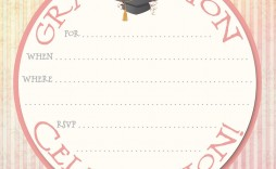 009 Awful Free Printable Graduation Announcement Template High Def