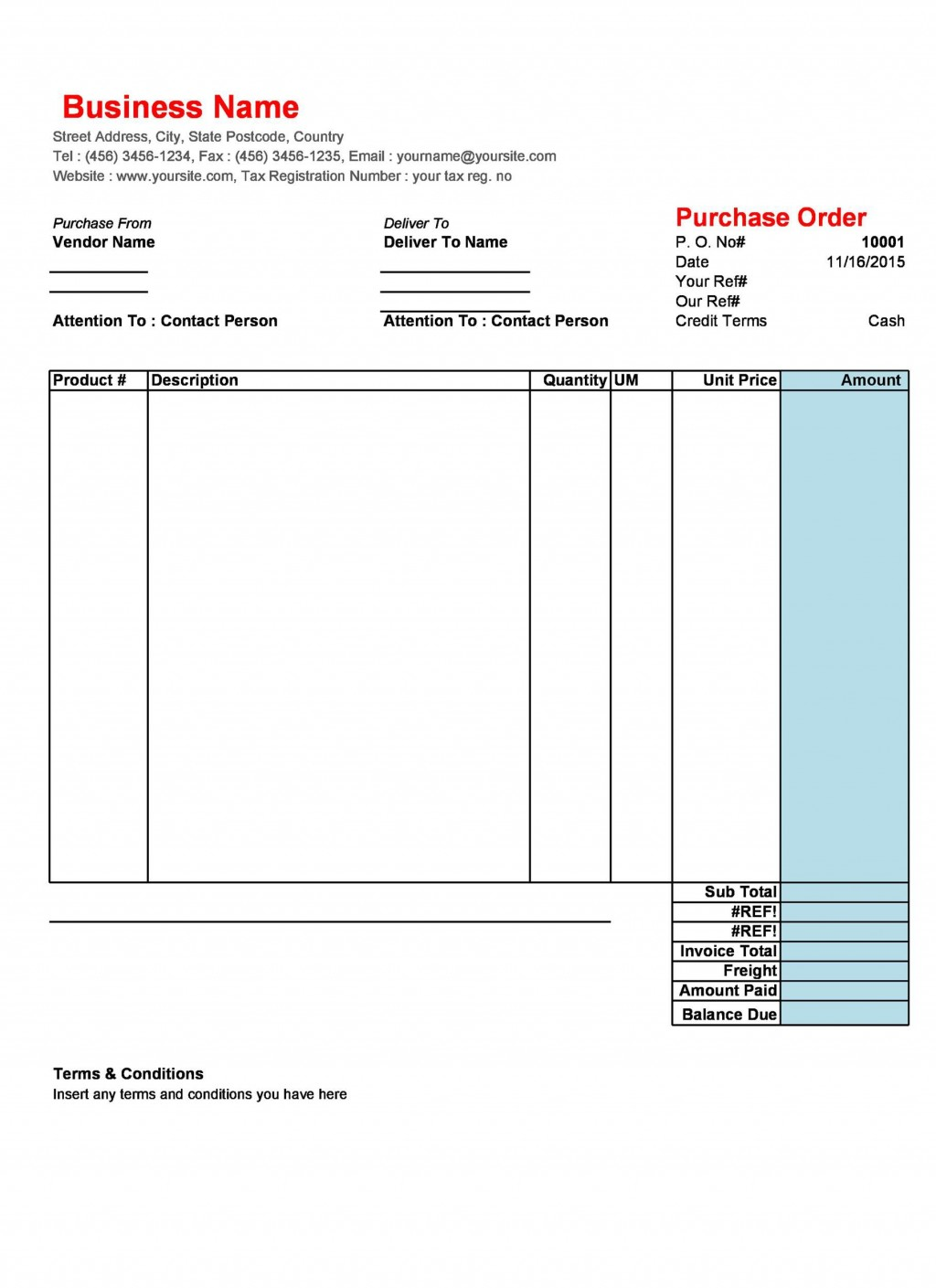 009 Awful Free Purchase Order Template Word Picture  Microsoft DownloadLarge