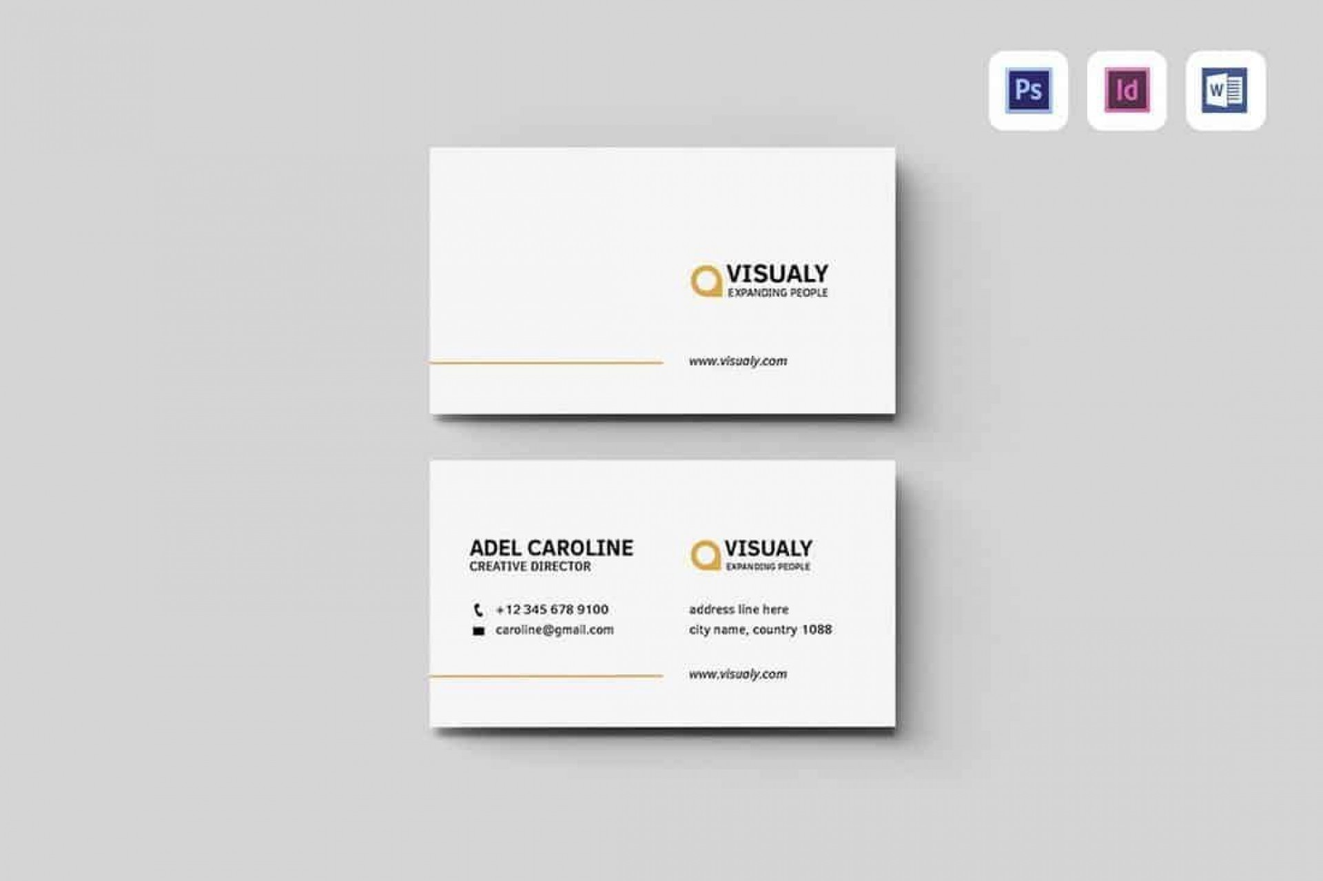 009 Awful Free Simple Busines Card Template Word Inspiration 1920