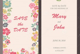 009 Awful Save The Date Birthday Card Template Design  Free Printable