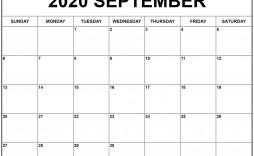 009 Beautiful 30 Day Calendar Template High Definition  Pdf Free Blank