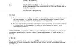 009 Beautiful Busines Service Contract Template Sample  Small Agreement