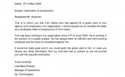 009 Beautiful Employment Verification Letter Template Word Idea  South Africa