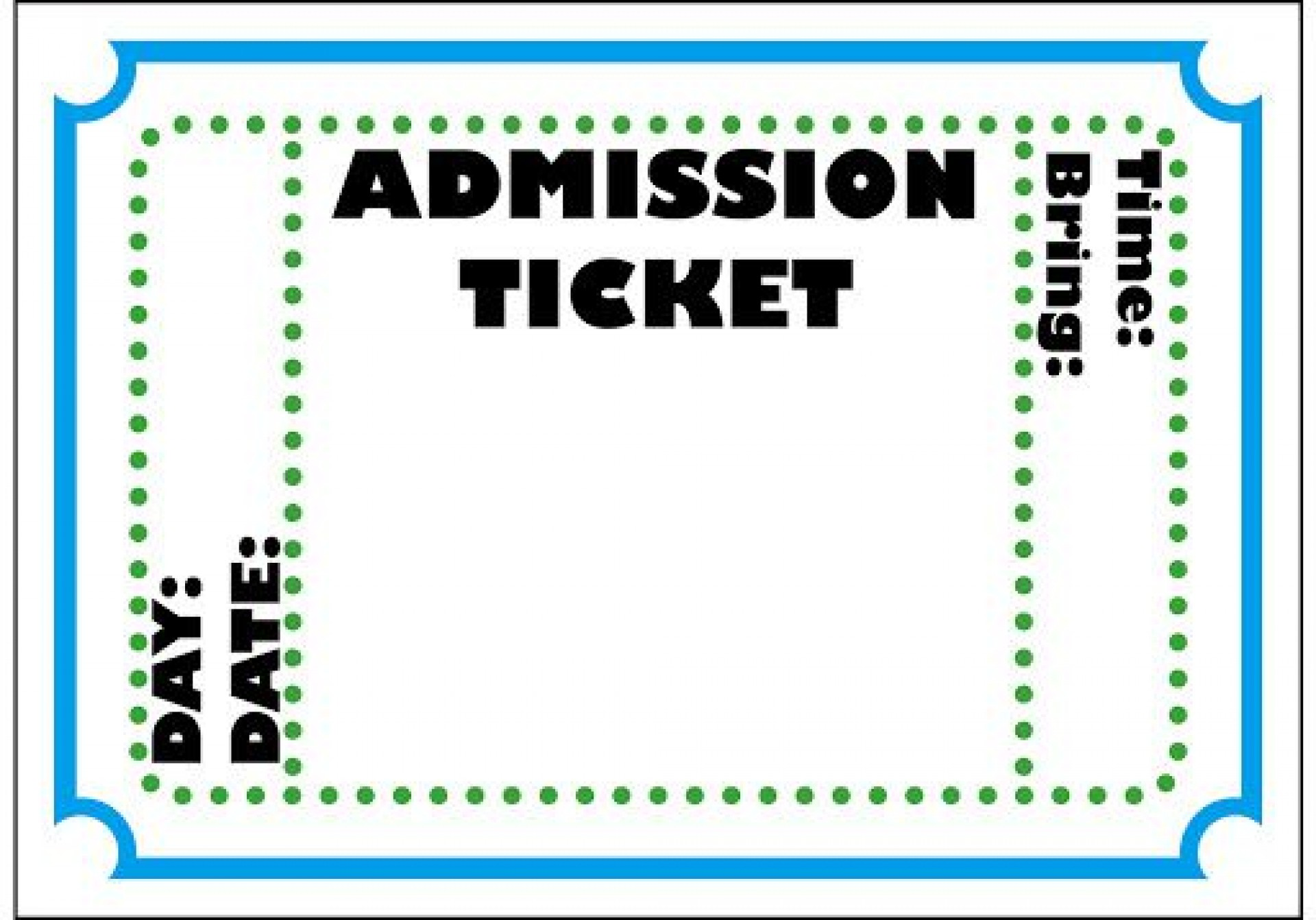 009 Beautiful Free Printable Concert Ticket Clipart Highest Clarity 1920