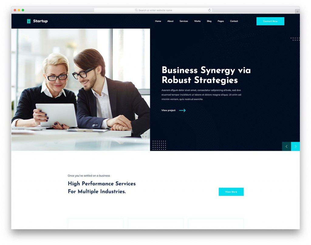 009 Beautiful Free Website Template Download Html And Cs Jquery For Busines Example  BusinessLarge