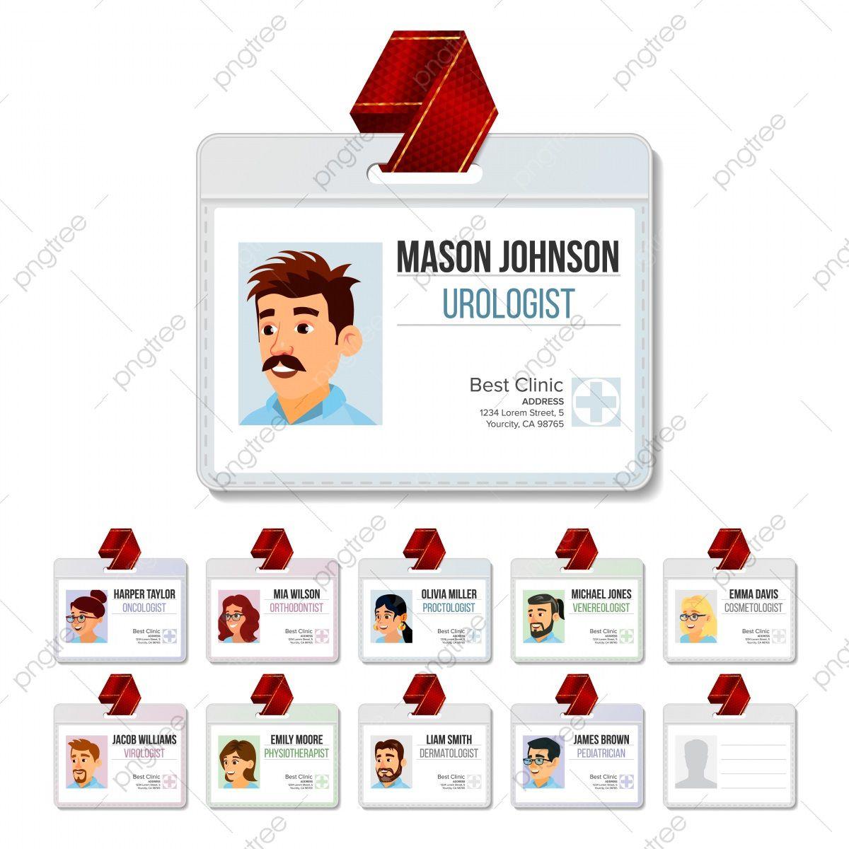 009 Beautiful Id Badge Template Free Image  School Teacher Jurassic ParkFull