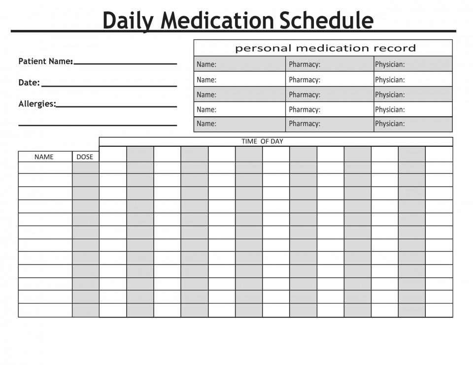 009 Beautiful Medication Administration Record Form Download Concept 960