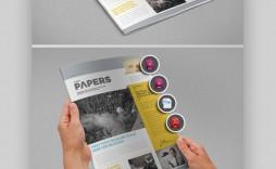 009 Beautiful Microsoft Publisher Newsletter Template Design  School Free Download