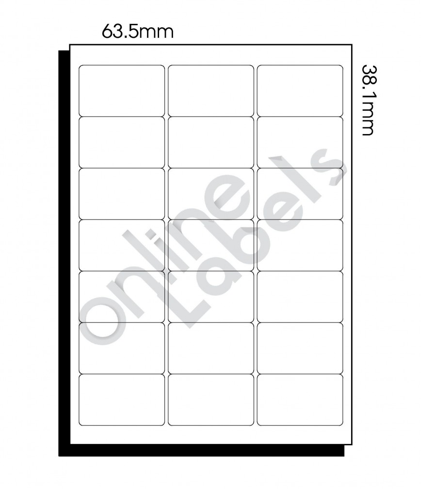 009 Beautiful Microsoft Word Addres Label Template 16 Per Sheet High Definition 868