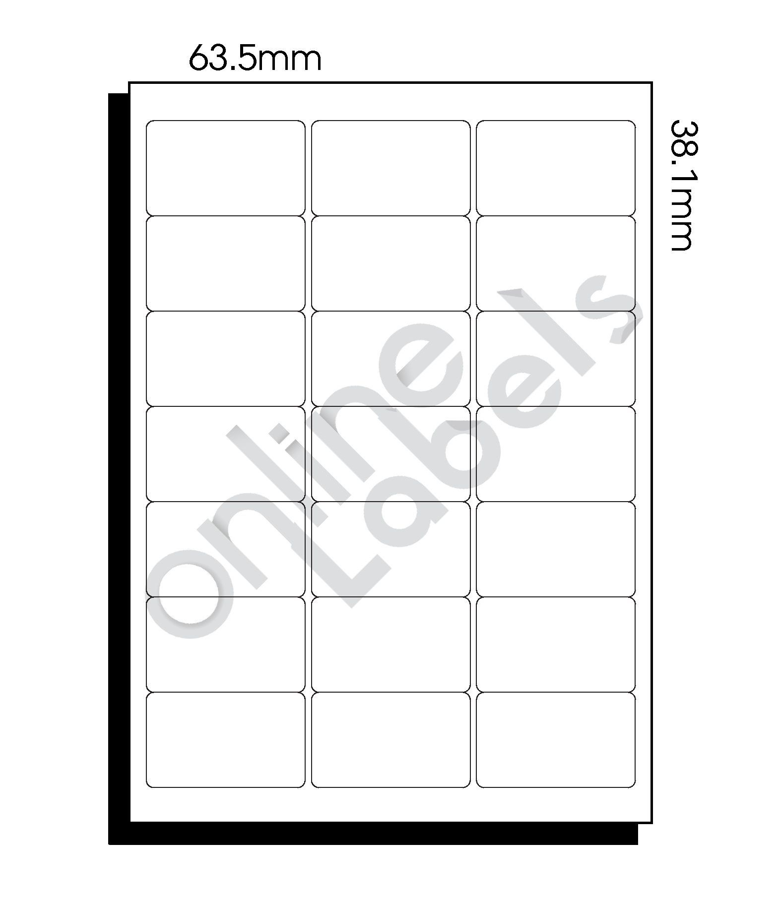 009 Beautiful Microsoft Word Addres Label Template 16 Per Sheet High Definition Full