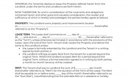 009 Beautiful Rental Contract Template Free Download Inspiration  Agreement Sample Room Form
