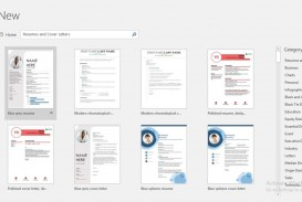 009 Beautiful Resume Template Word 2016 Picture  Cv Microsoft Download Free