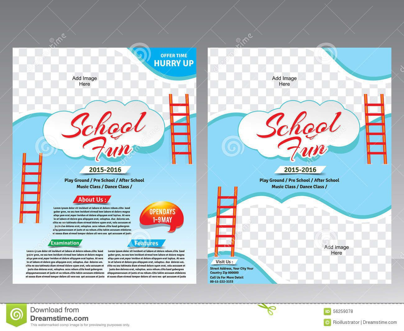 009 Beautiful School Magazine Layout Template Free Download Highest Clarity Full