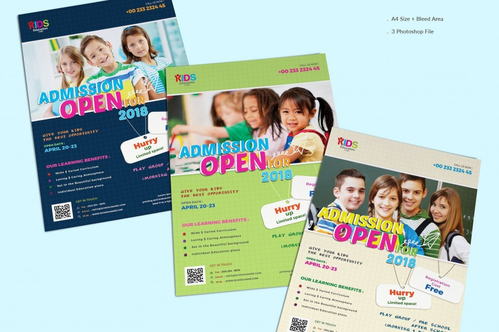 009 Beautiful School Picture Day Flyer Template High Resolution  FreeLarge