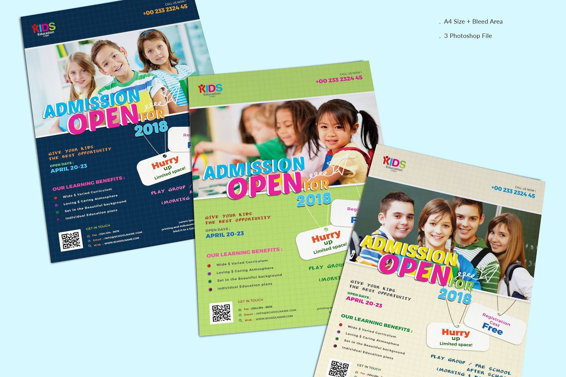 009 Beautiful School Picture Day Flyer Template High Resolution  FreeFull