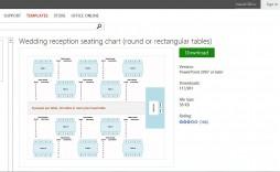 009 Beautiful Seating Chart Template Excel Sample  Wedding Plan Free Table Microsoft
