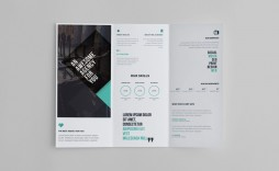009 Beautiful Three Fold Brochure Template Free Download Concept  3 Psd Publisher