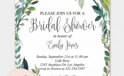 009 Best Free Bridal Shower Invite Template High Definition  Invitation For Word Wedding Microsoft