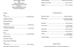 009 Best Free Church Program Template Word Design  Bulletin Microsoft For
