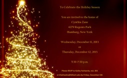 009 Best Free Holiday Party Flyer Template Word Highest Clarity