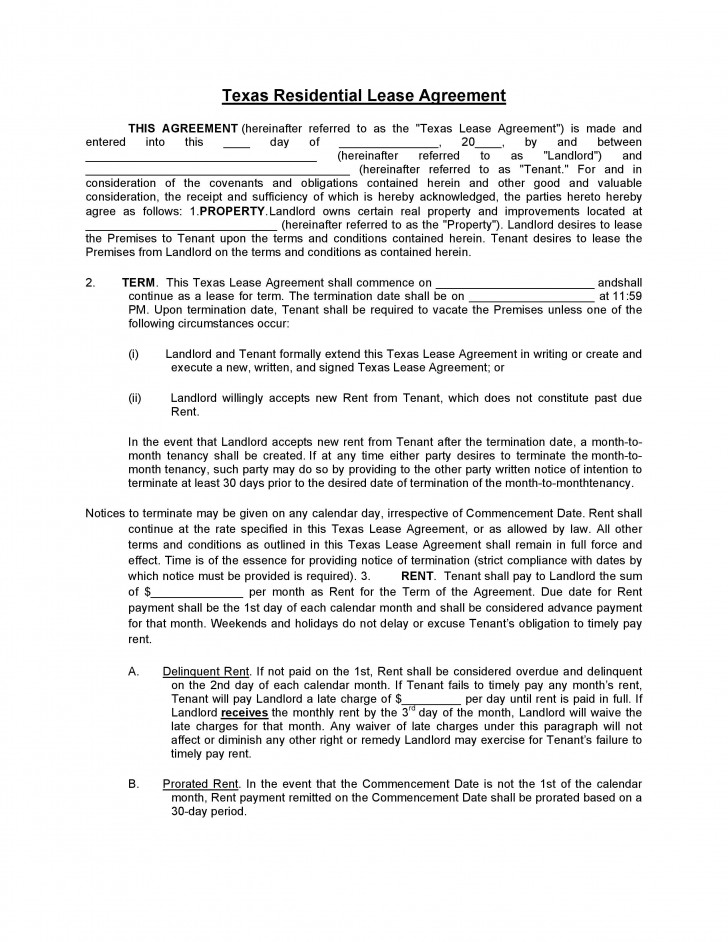 009 Best Generic Rental Lease Agreement Md High Resolution  Sample Maryland728