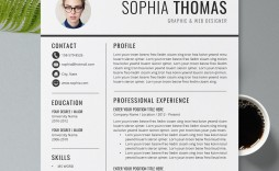 009 Best Graduate Student Resume Template Word High Resolution