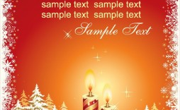 009 Best Holiday Card Template Free Picture  Christma Word Recipe Editable Microsoft