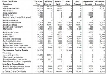 009 Best Monthly Cash Flow Template Excel Uk Idea 360