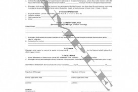 009 Best Property Management Contract Template Free High Definition  Uk