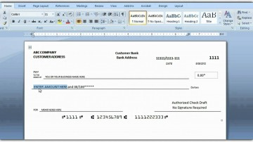 009 Best Quickbook Check Template Word High Definition 360