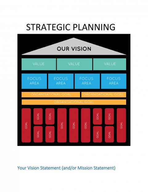 009 Best Strategic Planning Template Excel Free Photo 480