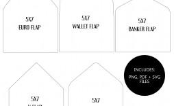 009 Breathtaking A7 Envelope Liner Template Image  Printable Illustrator Free