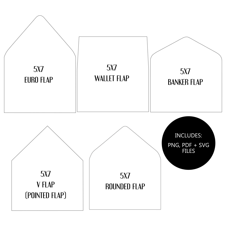 009 Breathtaking A7 Envelope Liner Template Image  Printable Illustrator FreeFull