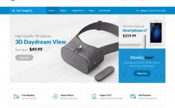 009 Breathtaking Free E Commerce Website Template Sample  Ecommerce Html Cs Bootstrap Php