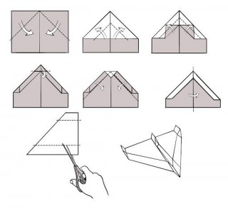 009 Breathtaking Printable Simple Paper Airplane Instruction High Resolution  Plane320