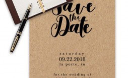 009 Breathtaking Save The Date Template Word High Definition  Free Customizable For Holiday Party