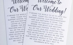 009 Breathtaking Wedding Welcome Bag Letter Template Free Example
