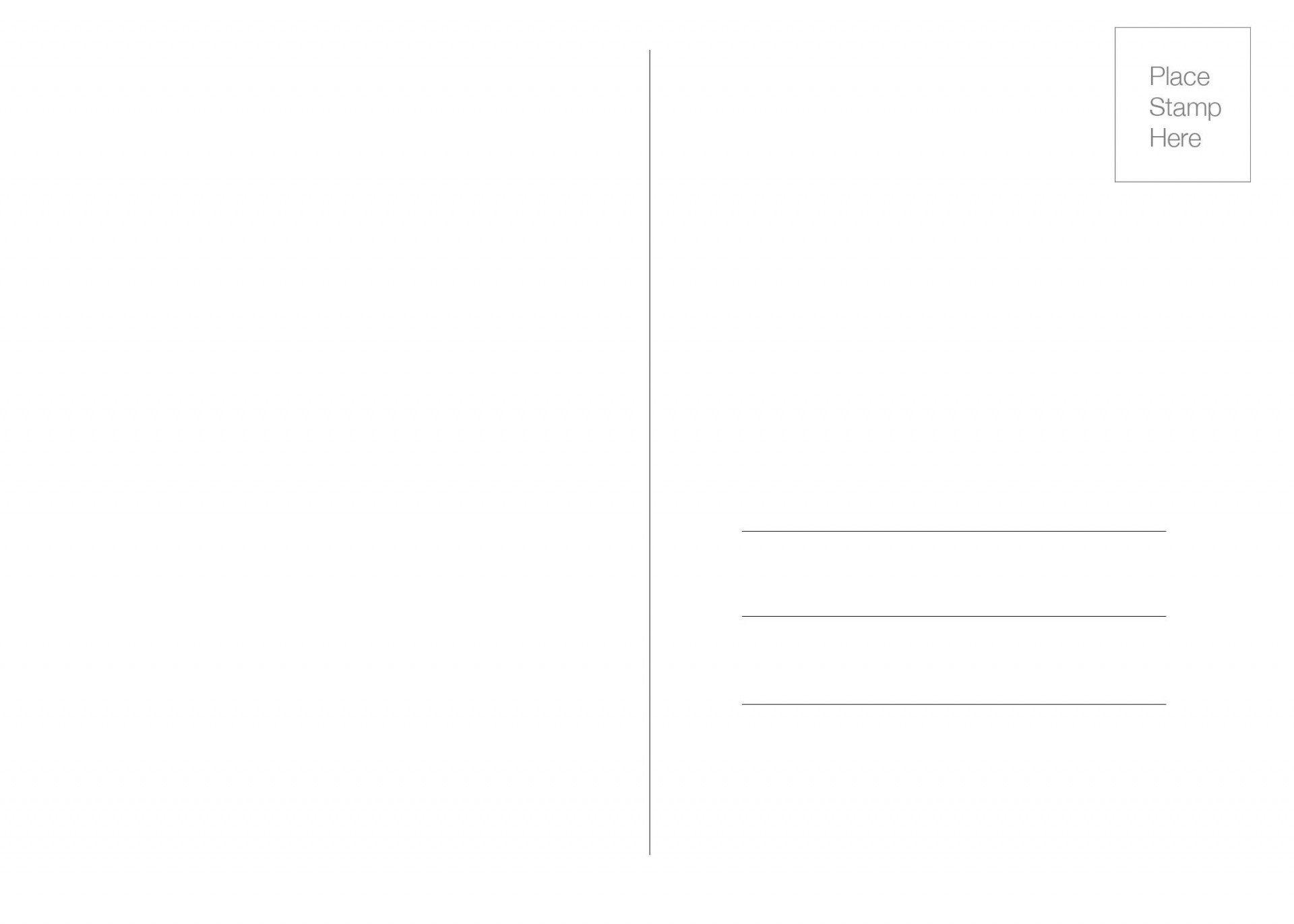 009 Dreaded 5 X 7 Postcard Template Microsoft Word Design Full