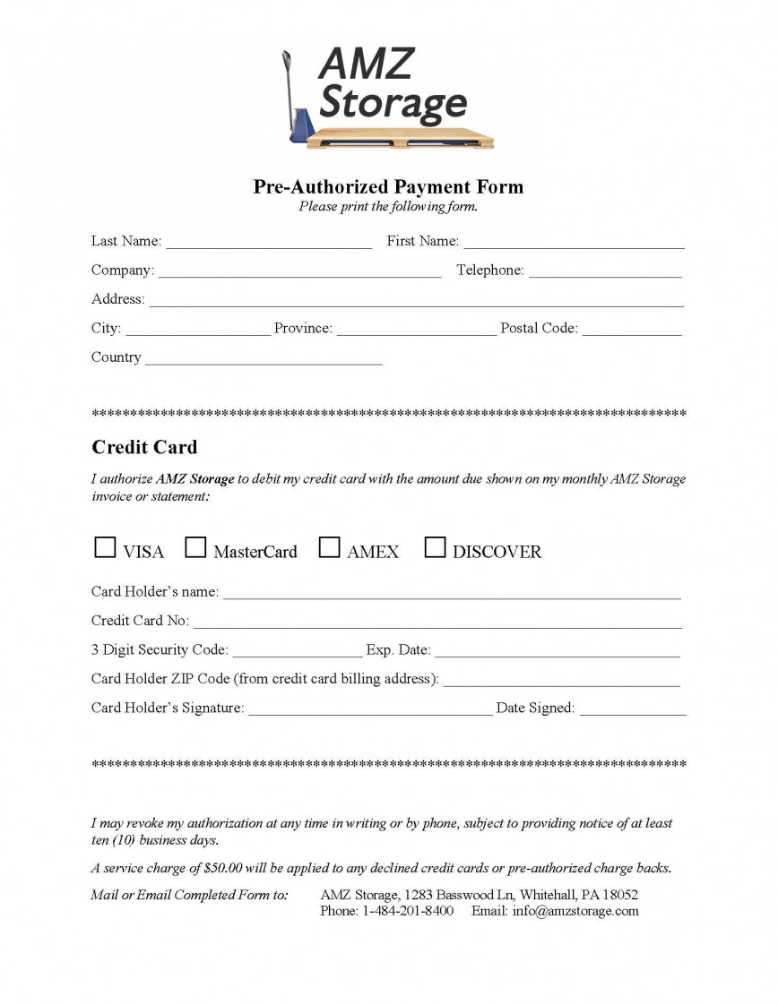 009 Dreaded Credit Card Payment Form Template Pdf Concept  Authorization