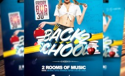 009 Dreaded Free Back To School Flyer Template Psd Design