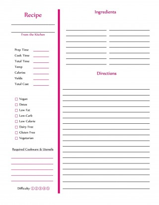 009 Dreaded Free Make Your Own Cookbook Template Download High Definition 320