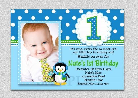 009 Dreaded Free Online 1st Birthday Invitation Card Maker For Twin Idea 480