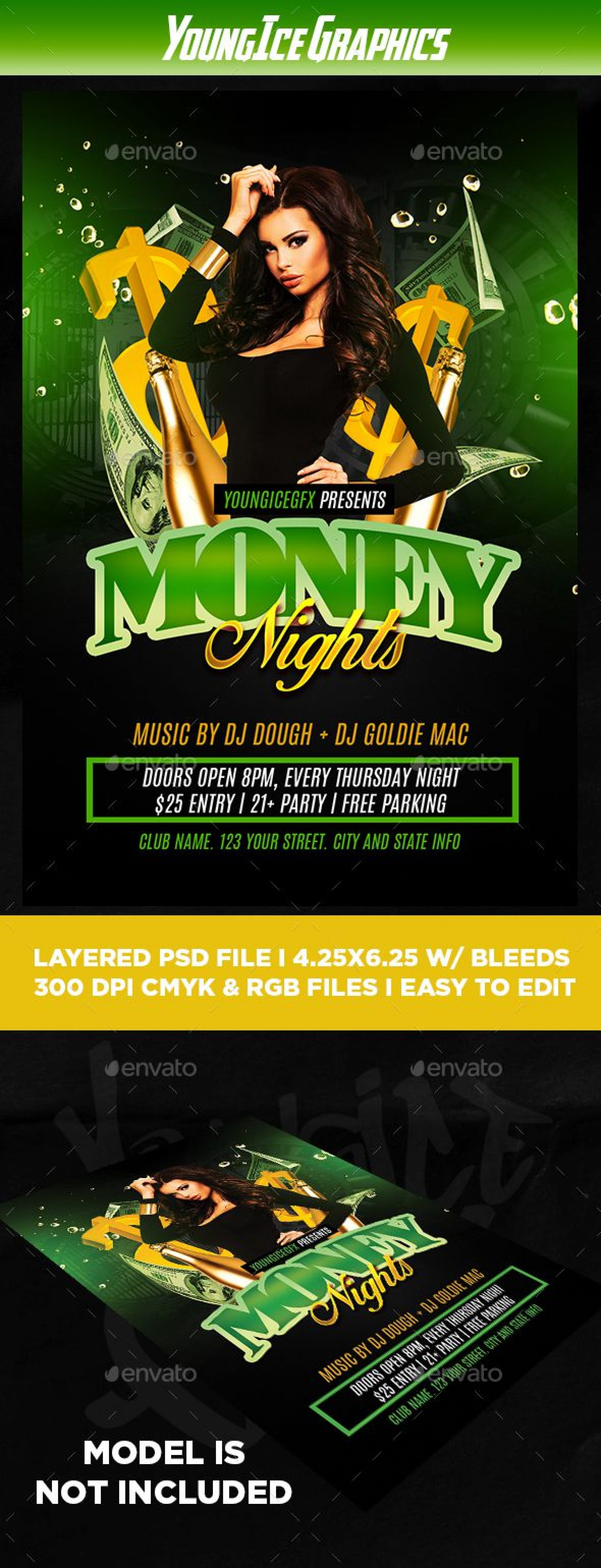 009 Dreaded Free Party Flyer Template For Mac Highest Clarity 1920