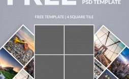 009 Dreaded Free Photoshop Collage Template Example  Templates Psd Download Photo For Element