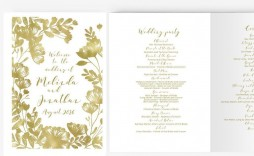 009 Dreaded Free Wedding Order Of Service Template Microsoft Word Inspiration