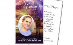 009 Dreaded Funeral Prayer Card Template Picture  Templates For Word Free