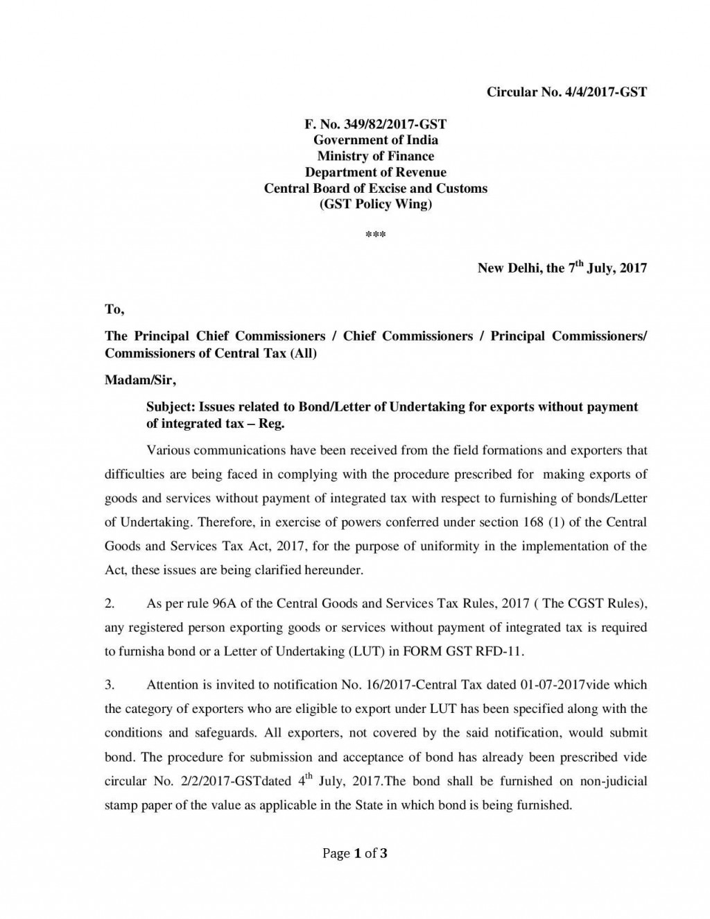 009 Dreaded Letter Of Understanding Format In Gst Photo Large