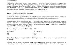 009 Dreaded Property Development Joint Venture Agreement Template Uk High Def