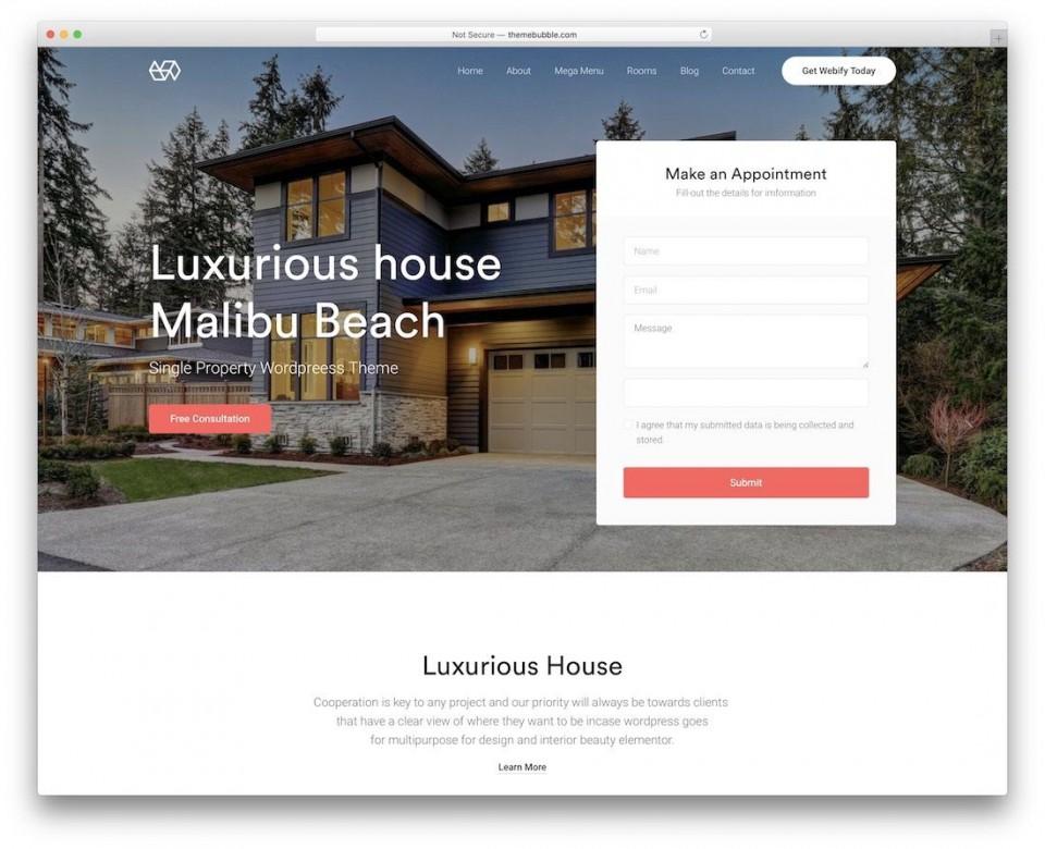 009 Dreaded Real Estate Template Wordpres Design  Homepres - Theme Free Download Realtyspace960