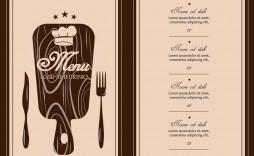 009 Dreaded Restaurant Menu Template Free Idea  Card Download Indesign Word